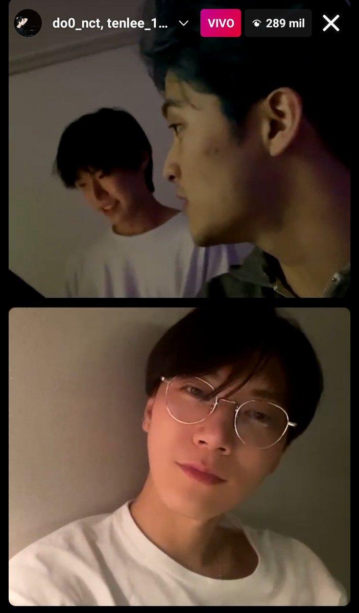 Esta vez puedo decir que no perdí los ig live de los neos: Mark, Ten, Doyoung, Xiaojun y en ambas se escuchó la voz de Yangyang ...en el de xiao comentó Winwin   #HappyNCTDay #ToTheWorldwithNCT #NCity의_조명만큼_밝게_빛나자 #NCT出道五周年_一直走花路吧 #NCTとこれからもずっと一緒に https://t.co/F4PFrUBcqX