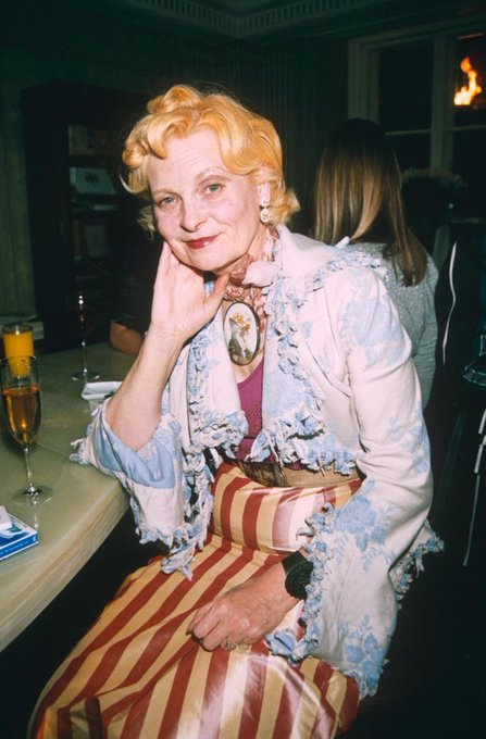 Happy birthday to the only queen i know, vivienne westwood