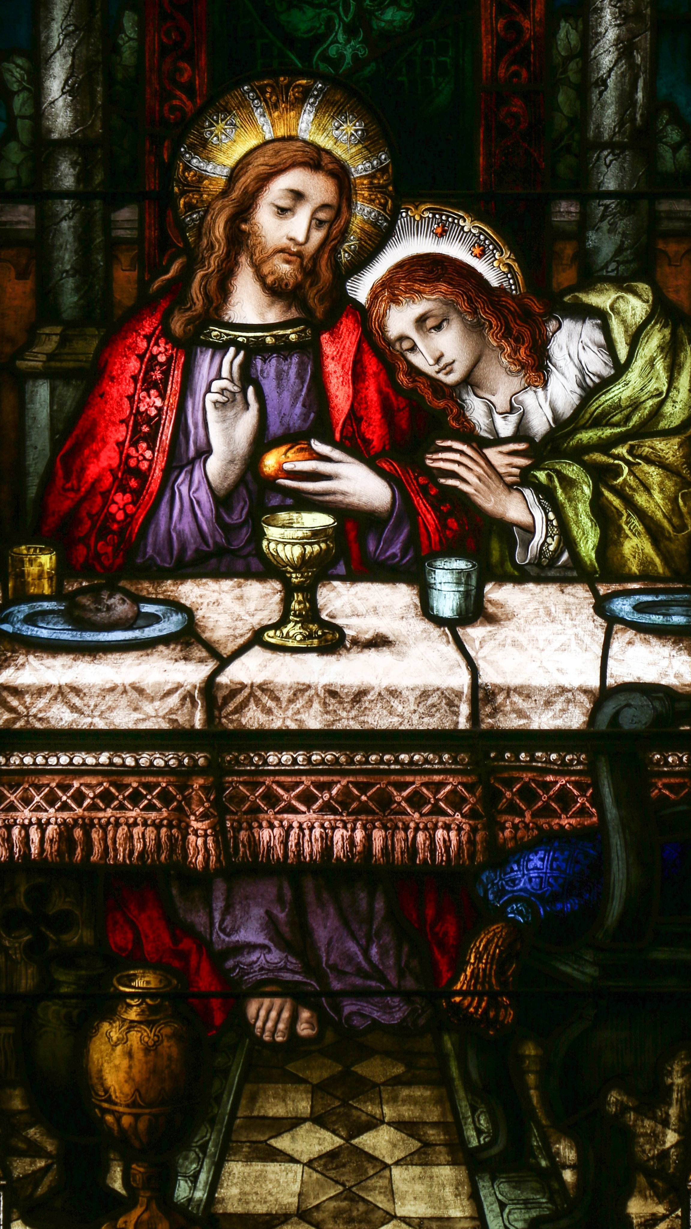 Wallpaper Beloved Disciple, Saint John