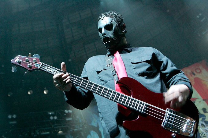 Happy Birthday to the late Paul Gray from Slipknot!   Paul would have been 49! Legend gone too soon.