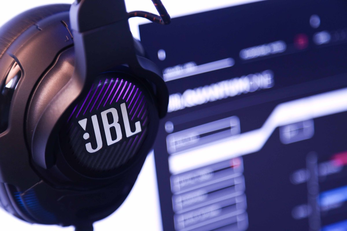 You'll never be caught off gaurd by an enemy again with a JBL Quantum ONE 🎧