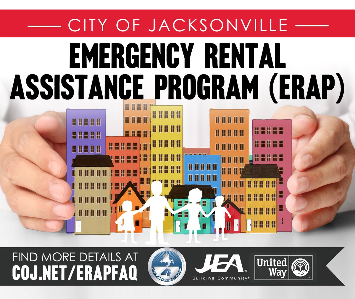 City Of Jacksonville Coj On Twitter Reminder Applications For The City Of Jacksonville Emergency Rental Assistance Program Are Due By Tomorrow Friday 4 9 At 6pm Go To Https T Co Lvfgz2lxll To Apply Online