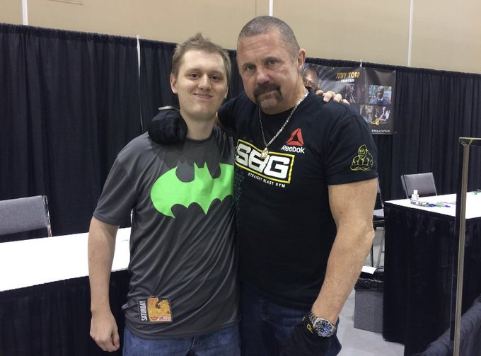 Happy Birthday to the one and only Kane Hodder! He is one seriously awesome guy.