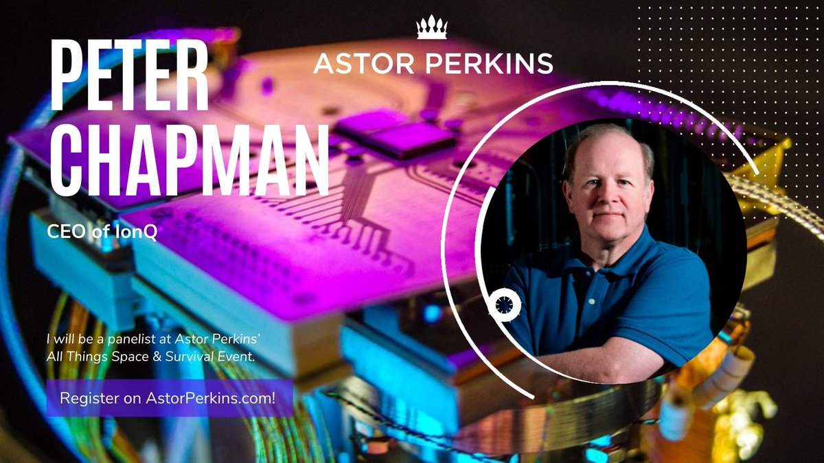 ⏱️ We are looking forward to the @PerkinsAstor event today. Our CEO @jfitzsimons will be in the great company of Peter Chapman from @IonQ_Inc,  Winfried Hensinger from @SussexQuantum and @whurley from @Strangeworks. https://t.co/2w1QeMi8Nr