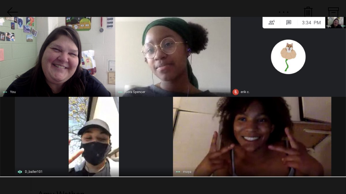 """Today was a grumpy day so we let the soothing voice of <a target='_blank' href='http://twitter.com/NifMuhammad'>@NifMuhammad</a> calm us. Then we tried to write poems as snapshots of our lives with the phrase """"in this one"""". Turned into a pretty awesome early evening.  💕Thanks, poets!💕 <a target='_blank' href='https://t.co/wmYiCP5XpD'>https://t.co/wmYiCP5XpD</a>"""