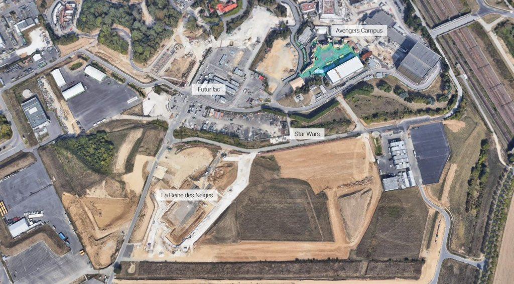 Extension du Parc Walt Disney Studios avec nouvelles zones autour d'un lac (2022-2025) - Page 40 EyfKTmKXMAMBea3?format=jpg&name=medium