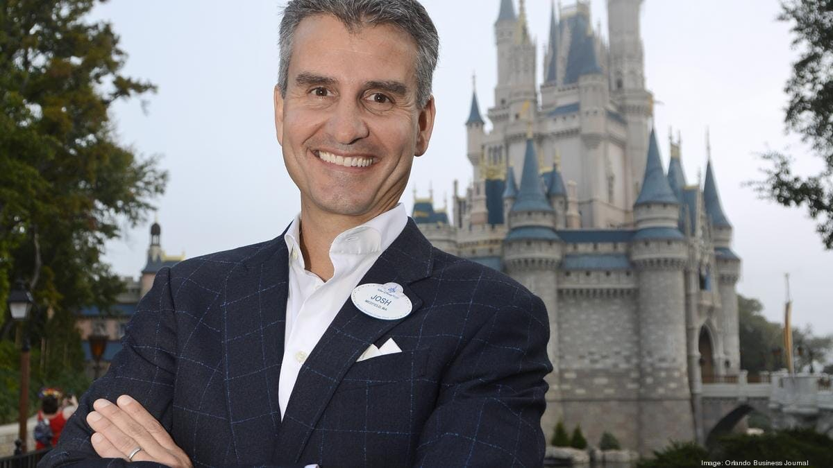 Josh DAmaro Discusses the Fresh, Technology-Focused Future of Disney Parks Photo