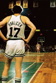 Happy birthday in heaven today to one of my favorites, the man in motion, John Havlicek