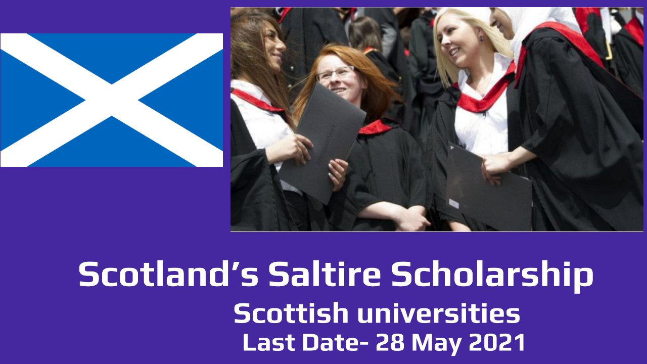 Scotland's Saltire Scholarship by the Scottish Government, Europe