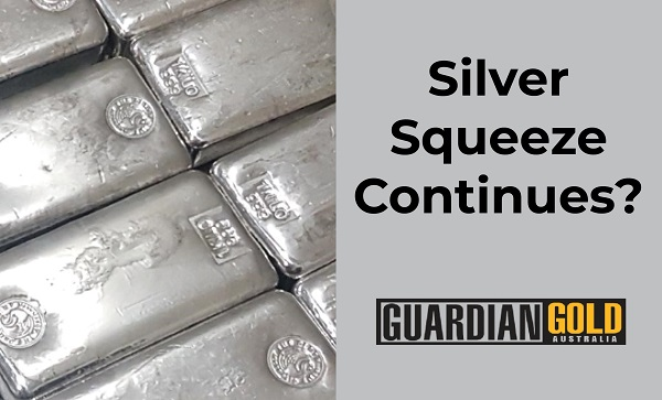 Latest market update covering the #silversqueeze again  (of course), a lot of buzz and potentially some misinformation out there. #Silver and #gold seeing strong physical demand, however ETF investors have been selling out in droves. Link: https://t.co/9Qhdr4qQhZ https://t.co/Jtgd2P9R3N