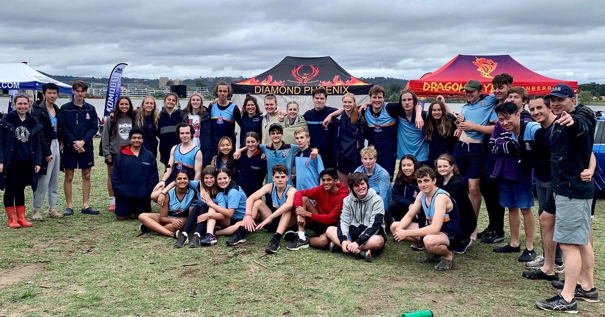 Congratulations to CGS students who competed at the last regatta of the season at the ACT Dragon Boat Championship recently.  Well done to all those who competed in the event, especially Year 12s who were taking part in their last event for CGS.  Here's to another great season!