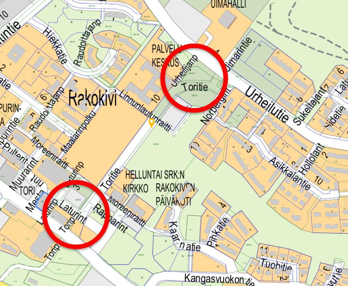 Muutoksia liikennejärjestelyihin tiedossa #Rakokiveen. #Nastola #Lahti