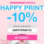 Image for the Tweet beginning: 🌸 HAPPY PRINT 🌸  -10% sur