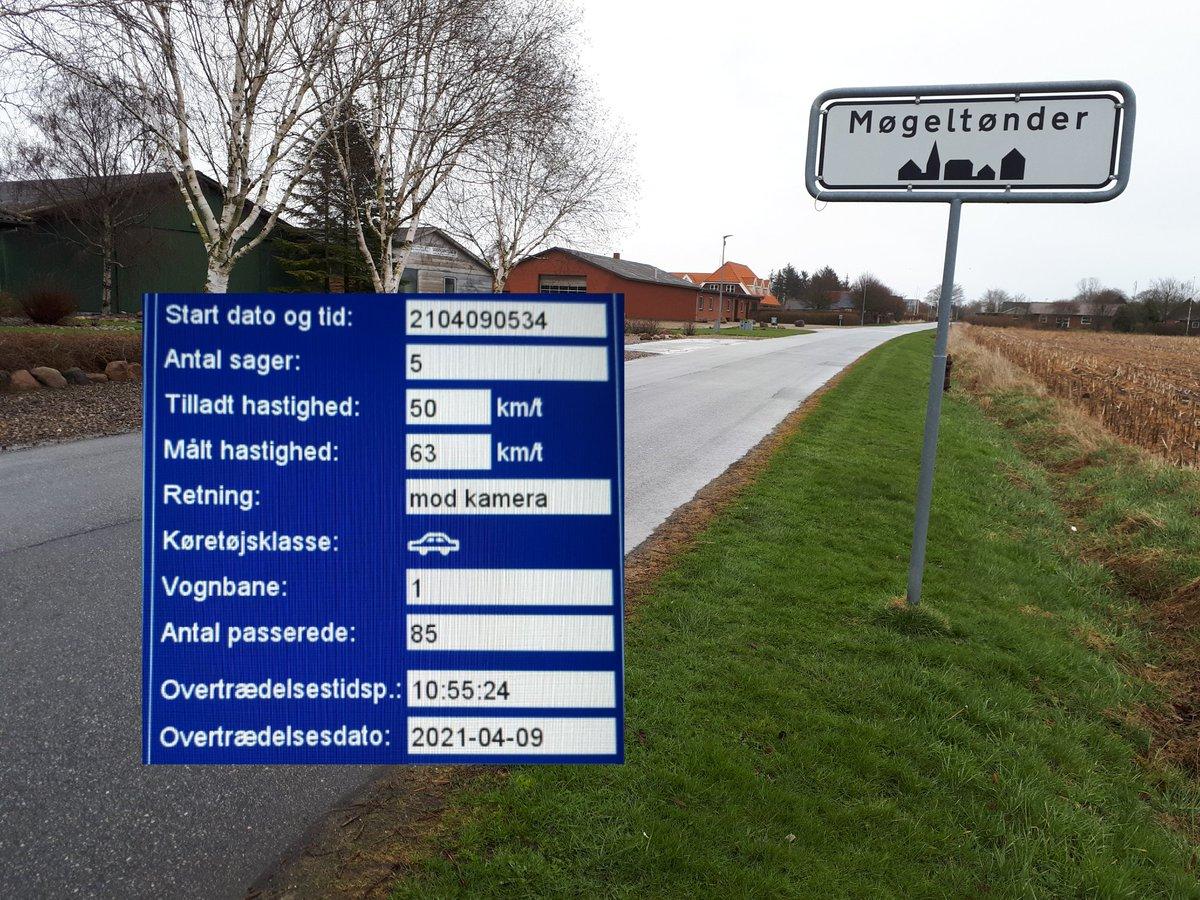 Utrygge borgere i Møgeltønder ved Tønder, havde via bestil en betjent ønsket at vi kom med fotovognen, selvom der ikke var meget trafik, kørte 5 bilister for stærkt, hvor den hurtigste kørte 63 km/t. Sænk farten bare lidt og gør borgerne i Møgeltønder trygge #atkdk #politidk https://t.co/W3G7iTRDFI