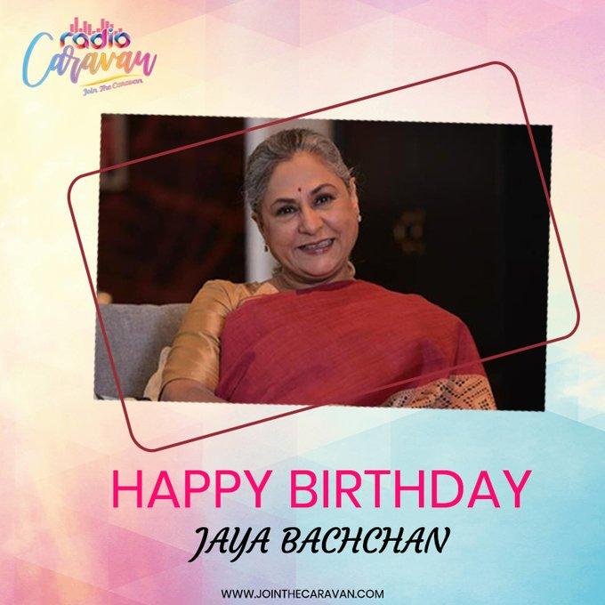 Wishing Jaya Bachchan Ji a very Happy Birthday!