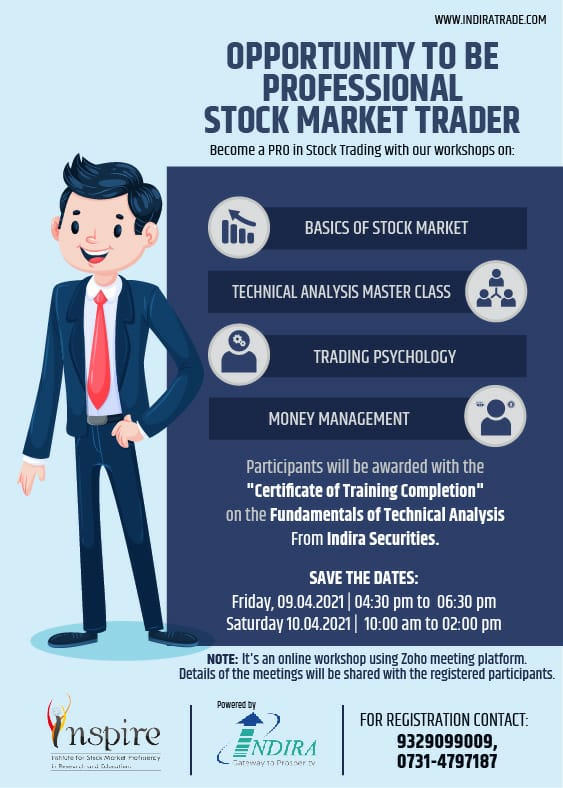 Opportunity To Be A Professional Stock Market Trader- Become A PRO In Stock Trading With Our Workshop. Hurry Contact Now as limited seats are available! Type yes if you are interested https://t.co/Goe77f5JOT Call Now: 9329099009 #basicsofstockmarket #TechnicalAnalysisMasterClass https://t.co/gXFMcarQCX