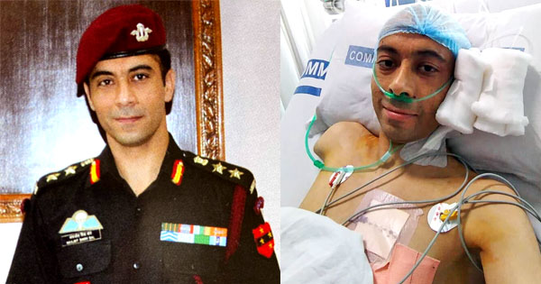Stuff #IndianArmy is made of💪  While for us a minor headache might become an excuse for a day off, Col Navjot Singh Bal despite losing an arm to cancer, continued to serve in 2 Para as the commanding officer & even learnt to fire with his left hand. @Tiny_Dhillon @ActorMadhavan