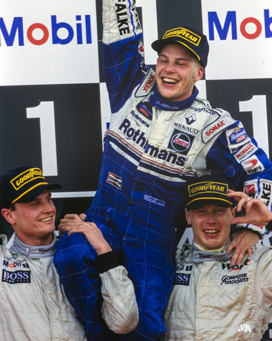 Happy 50th birthday to the 1995 Indy 500 and 1997 F1 champion, Jacques Villeneuve!