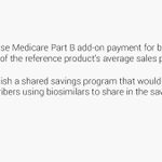 Image for the Tweet beginning: Concerned about #biosimilar uptake? Bipartisan