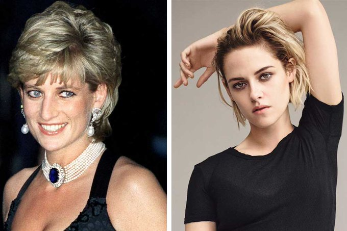 They have lots of similarities  What do you think ? Happy birthday Kristen Stewart !!