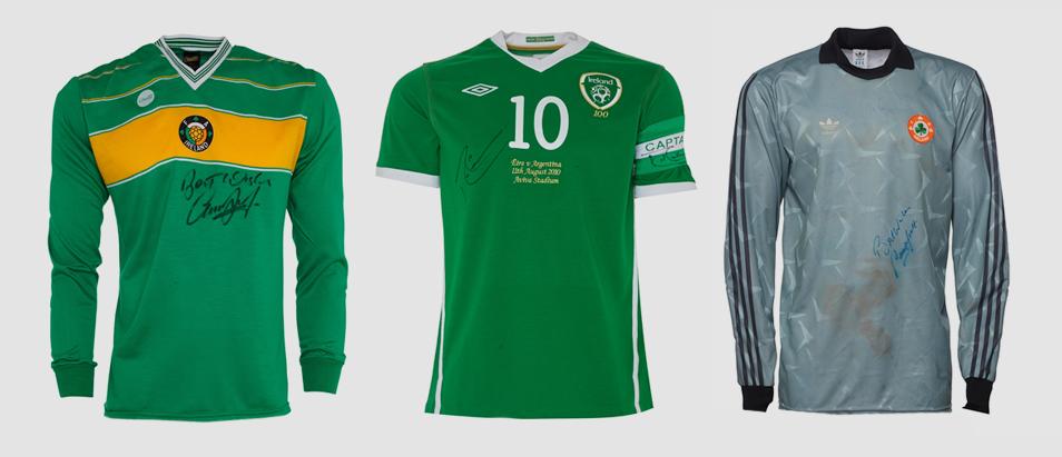 Ireland Match Worn Collection - Eddie