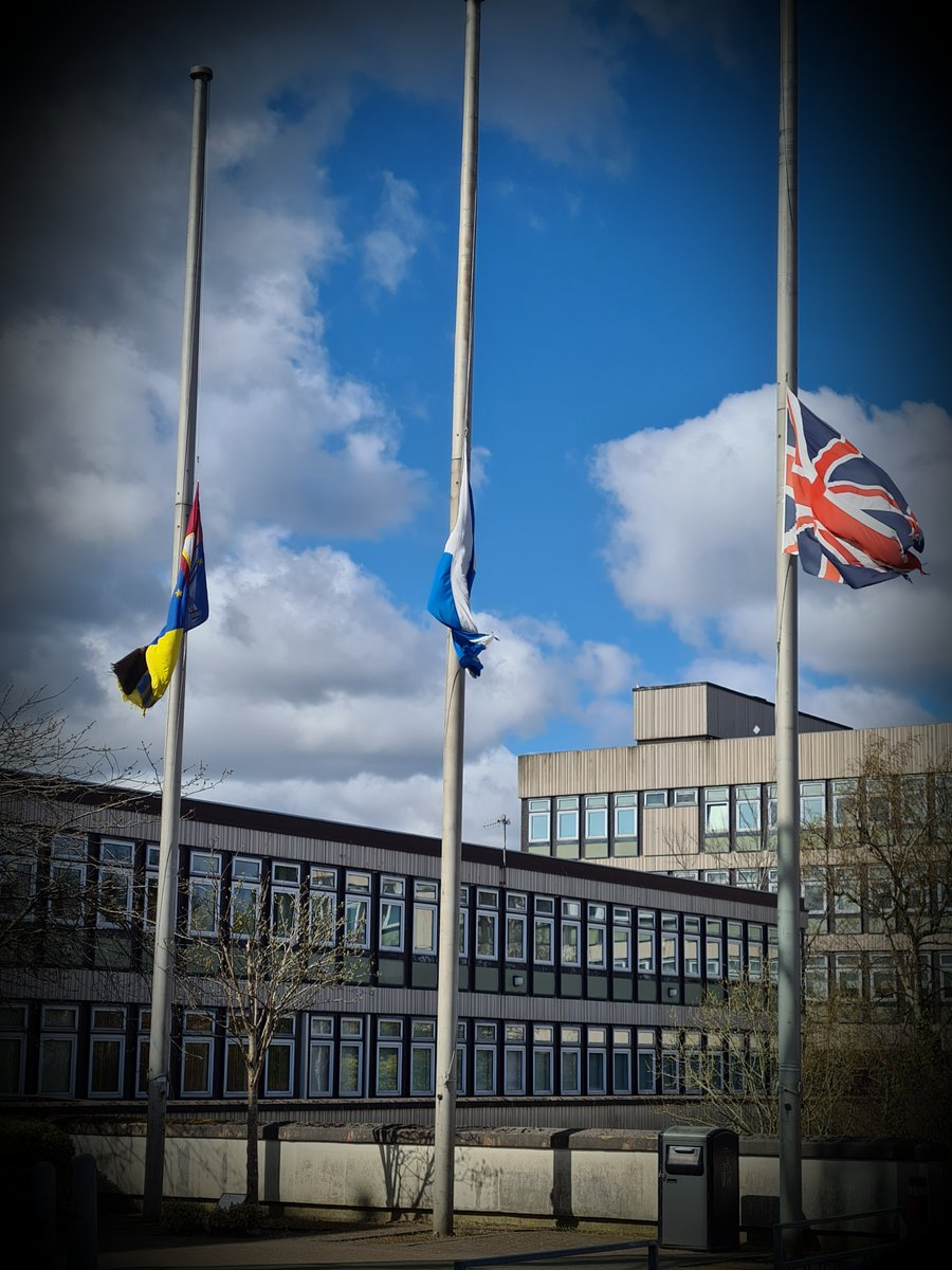 """""""On behalf of the residents of North Lanarkshire, I send my deepest condolences to Her Majesty the Queen and her family following the death of HRH Prince Philip the Duke of Edinburgh."""