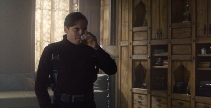 Zemo (Daniel Brühl) in Episode 4 of Marvel Studios' The Falcon and The Winter Soldier exclusively on Disney+