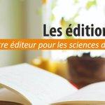 Image for the Tweet beginning: #Publier aux éditions Quae   #Livres