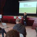 Image for the Tweet beginning: La regidora d'Educació de #Vilafant