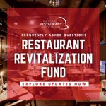 Image for the Tweet beginning: You have #RestaurantRevitalization questions, we