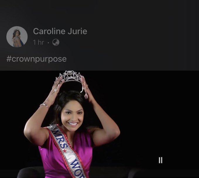 Mrs World Caroline Jurie says she is ready to hand over the crown after allegedly injuring Mrs Sri Lanka Photo