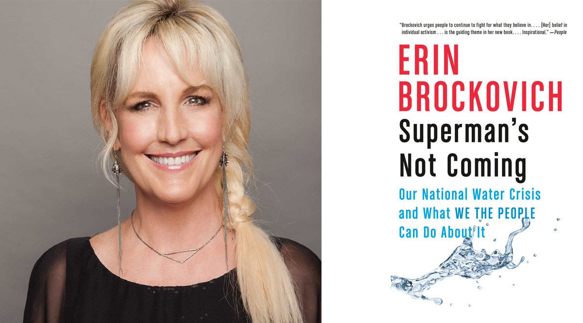 Really excited to be {virtually} welcoming @ErinBrockovich with our partners @nhpr for Writers on a New England Stage!