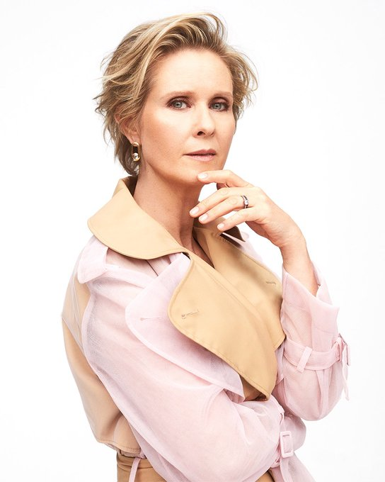 Happy birthday to this iconic and extremely talented woman, Cynthia Nixon!