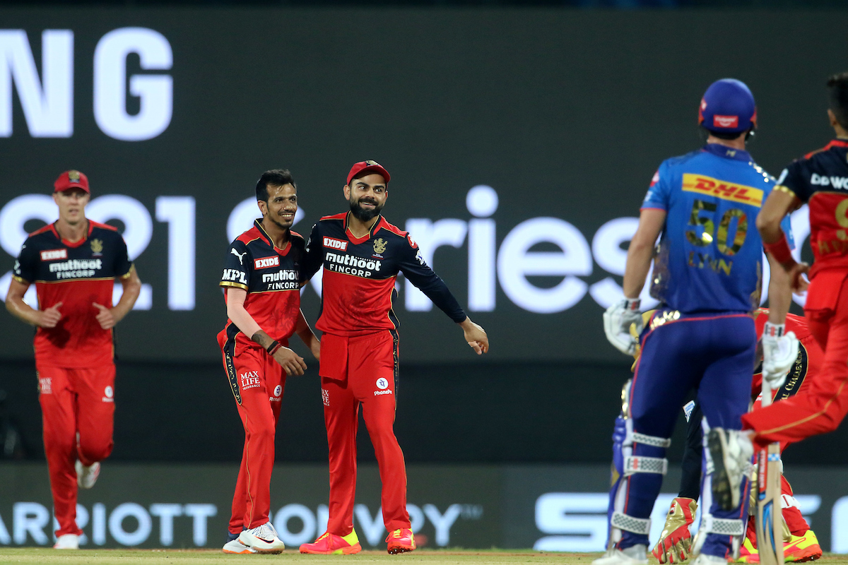 Skipper and Rohit Sharma is run out for 19.