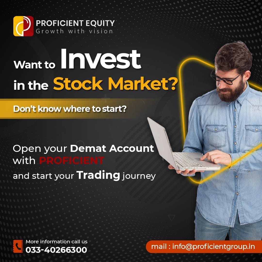 Want to Invest in the stock market ??  Open your Demat Account with PROFICIENT & start your Trading journey  Mail Us info@proficientgroup.in More information call us 033-40266300 https://t.co/3SHB3JXelp