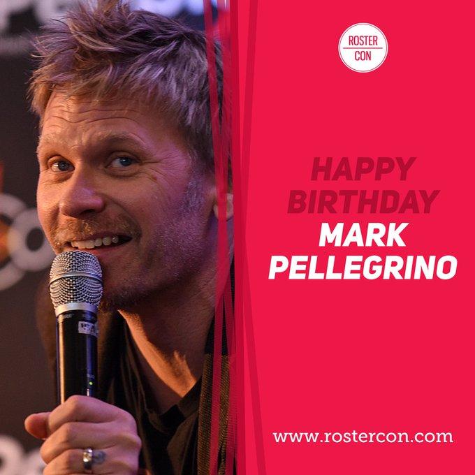 Happy Birthday Mark Pellegrino ! Souvenirs / Throwback :