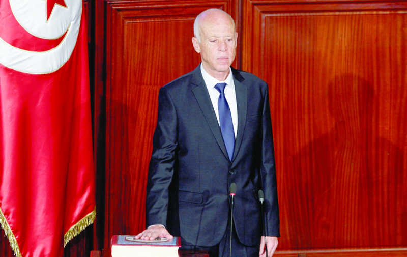 """قيس سعيد تونس بحاجة إلى برلمان """"محترم"""" وحكومة """"مسؤولة"""" جريدة عمان"""