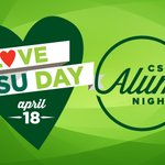 Image for the Tweet beginning: #ILoveCSUDay is coming up April