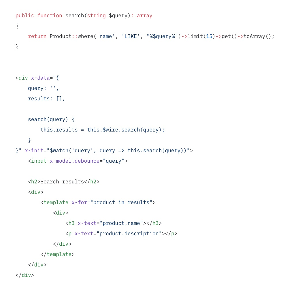 Call methods from JavaScript