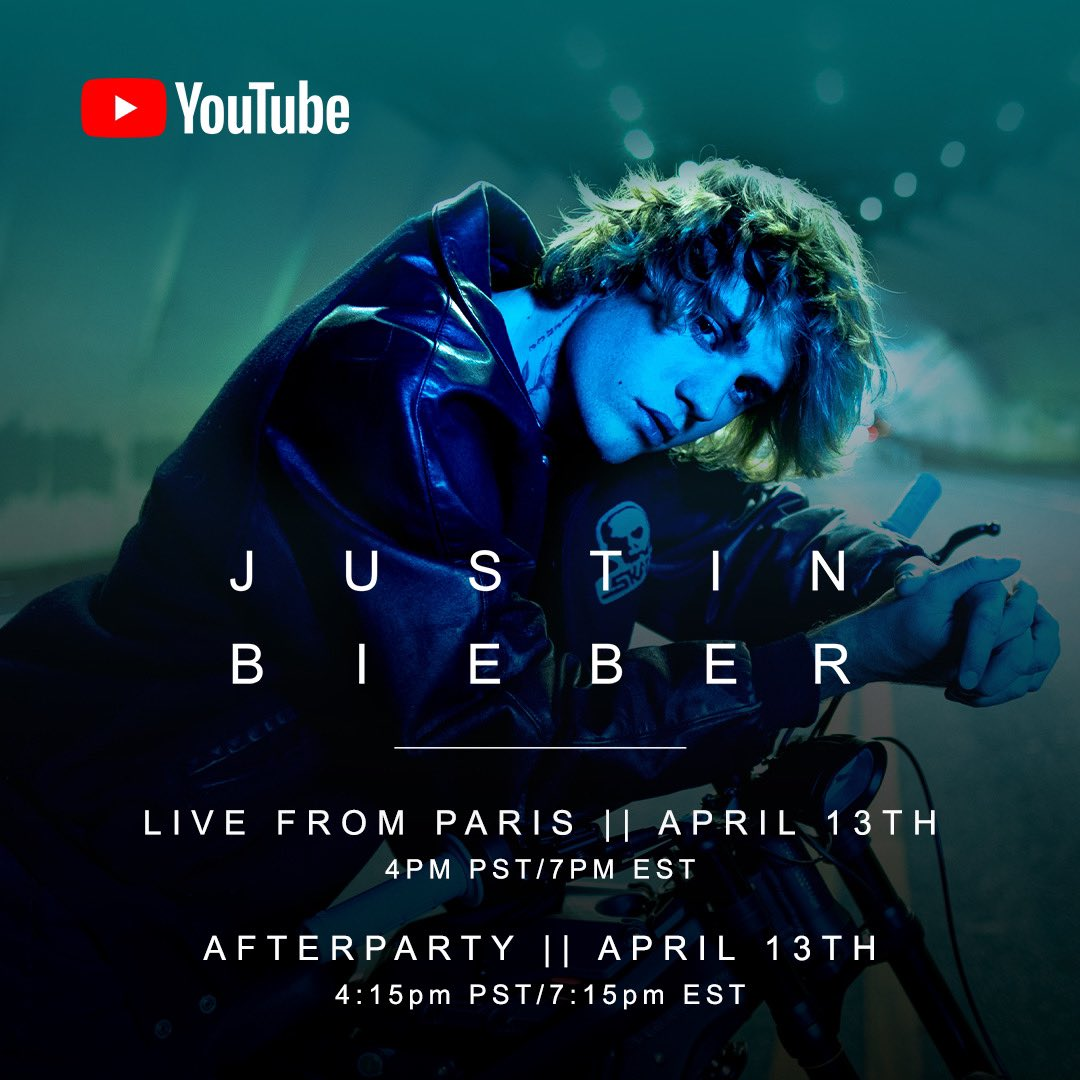 #JUSTICE live from Paris April 13th 4pm PST