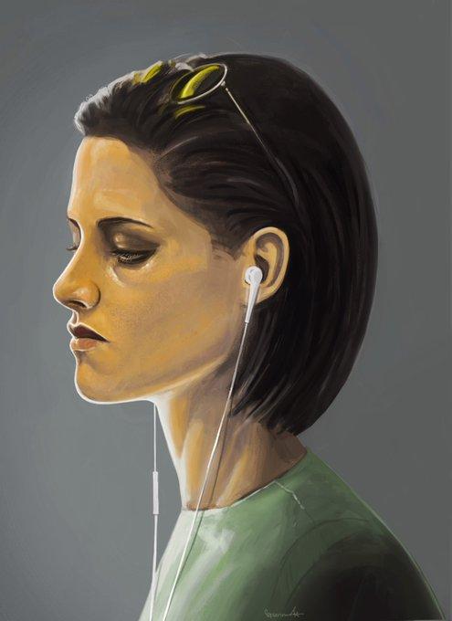 Happy Birthday Kristen Stewart!   Check my art plz