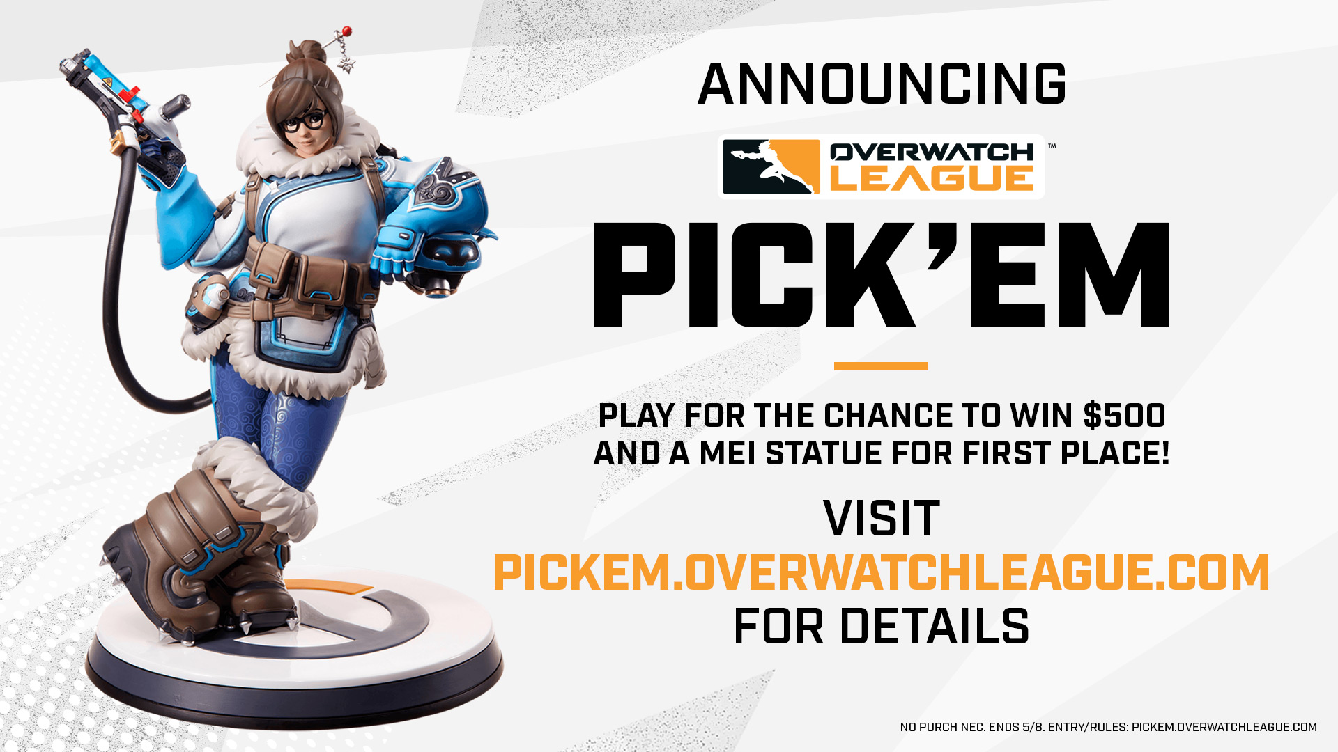 """Overwatch League on Twitter: """"Think you've got the all-seeing eye? 👁 Put your predictions to the test with #OWL2021 Pick'em! Pick smart, win big ➡ https://t.co/4fdRVrO7ak… https://t.co/9C3UFgSVmf"""""""