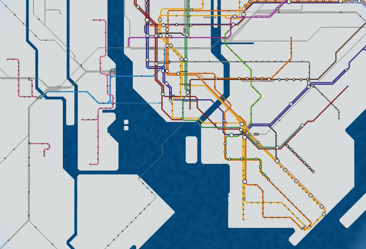 Want to know where the Subway System in New York runs?  Check out this map created in MinecraftEdu!