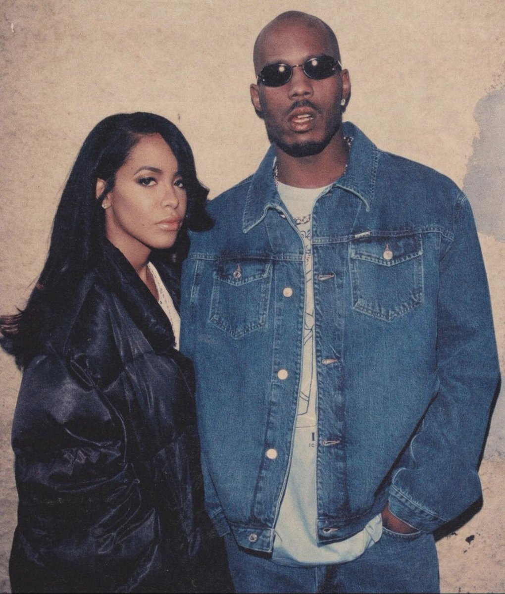 DMX & Aaliyah, 2000. 🕊🖤 https://t.co/xgoTebazND