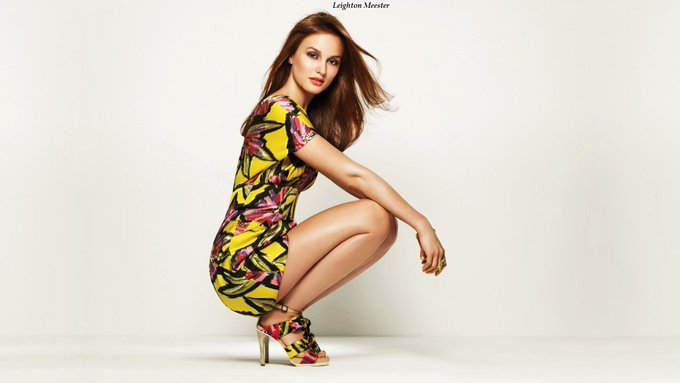 Happy Birthday to American actress, singer, songwriter, and model Leighton Meester (35).