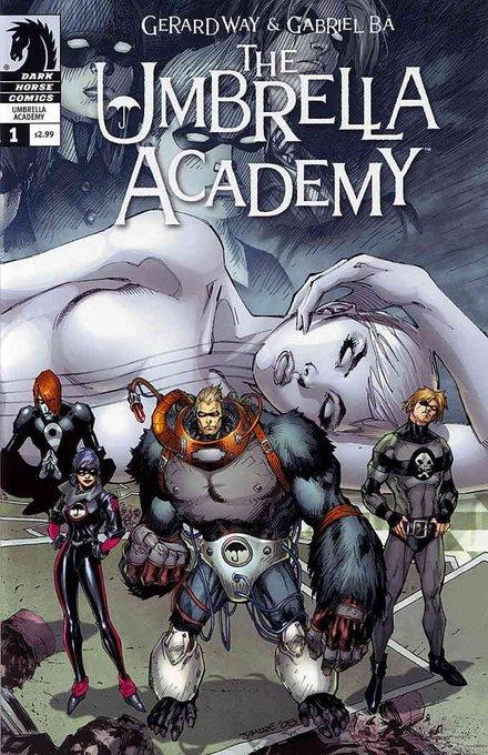 Happy birthday to comics writer and creator of \The Umbrella Academy\ Gerard Way.
