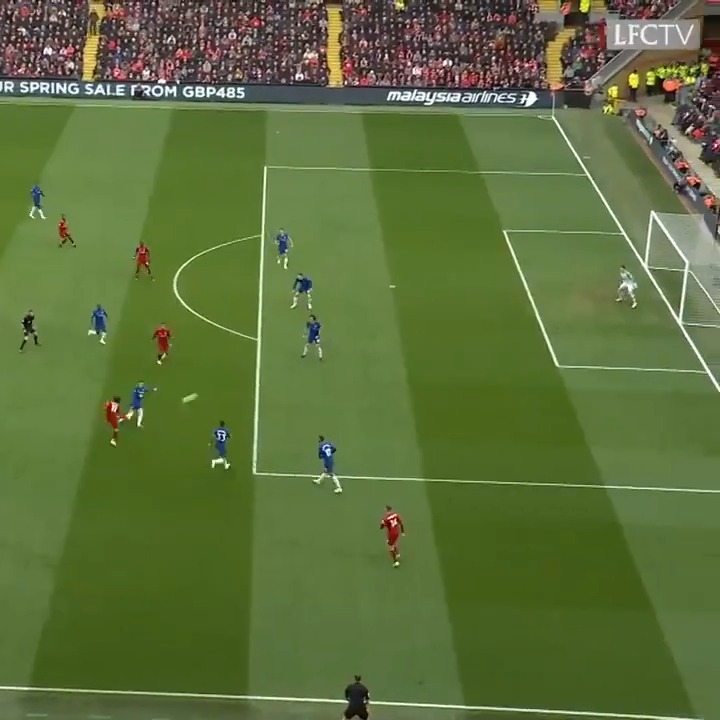 What. A. Goal. 😱  #OnThisDay two years ago, @MoSalah netted this incredible strike against Chelsea 👏⚽️ https://t.co/YXk6MYAb6Q