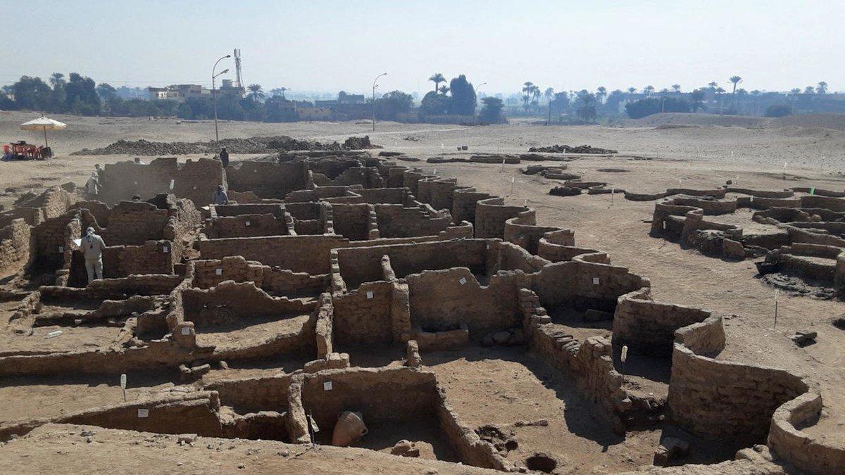 ciudad dorada perdida de Luxor-