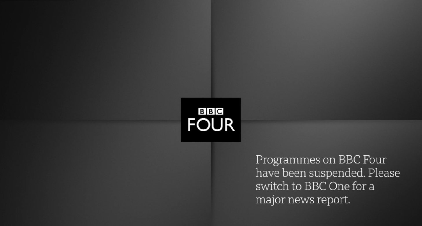 "Rob Harris on Twitter: ""England women's international against France has been taken off BBC TV tonight after Prince Philip's death. They'll show this holding graphic instead on the channel with BBC 4"