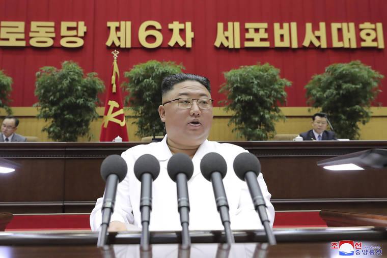 Kim Jong Un compares North Korea's economic woes to 1990s famine